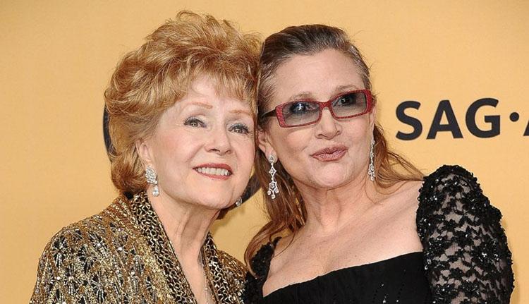 Egy nappal Carrie Fisher halála után édesanyja is meghalt