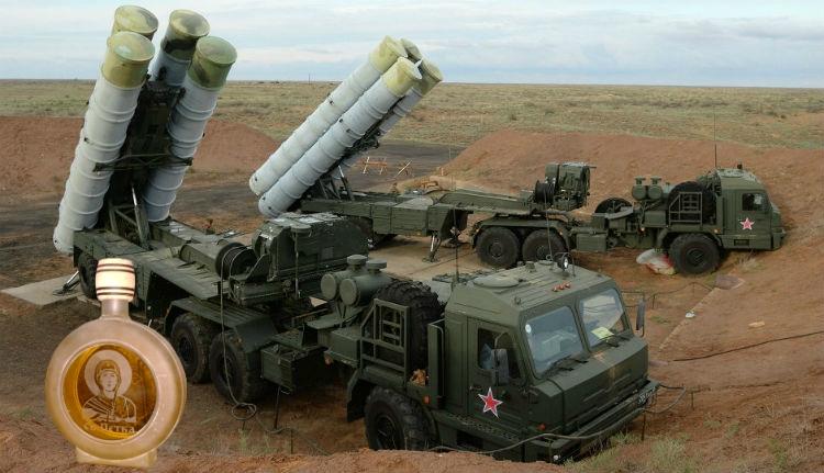 Ortodox pap fogadta a rakétákat a Krímben
