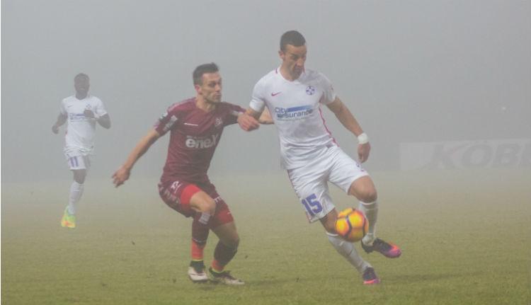 CFR–Steaua: ködbe veszett meccs