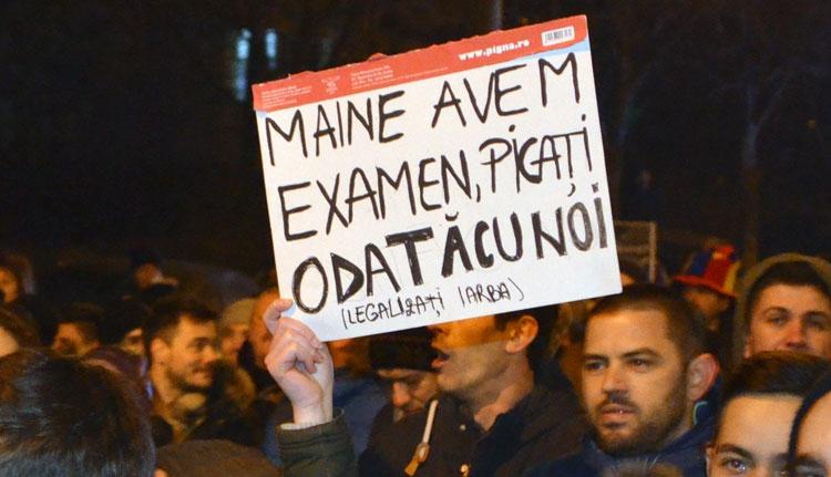 A legjobb táblák a tüntetésekről