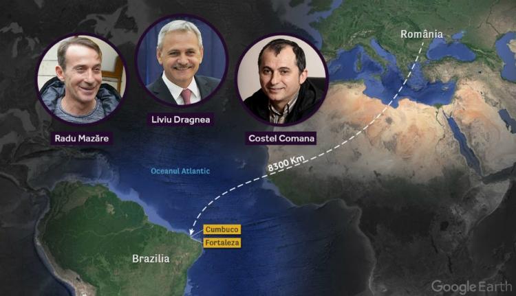 Egy brazil halászfalu lehet Dragnea kétes ügyleteinek külföldi központja?
