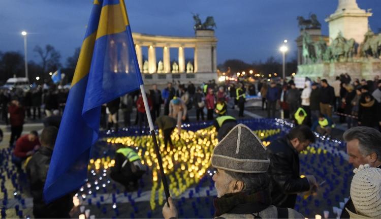 Látványos budapesti megemlékezés a Székely Szabadság Napján