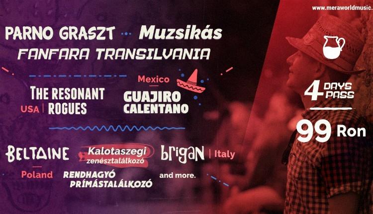 Mexikói és kaliforniai ritmusokat is hallhatunk a mérai csűrben