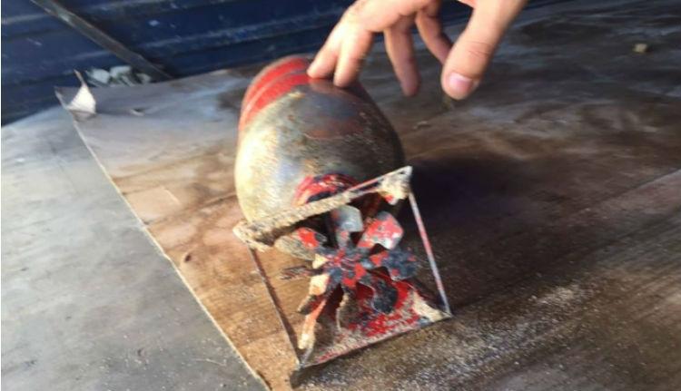 Bombát találtak a román tengerparton