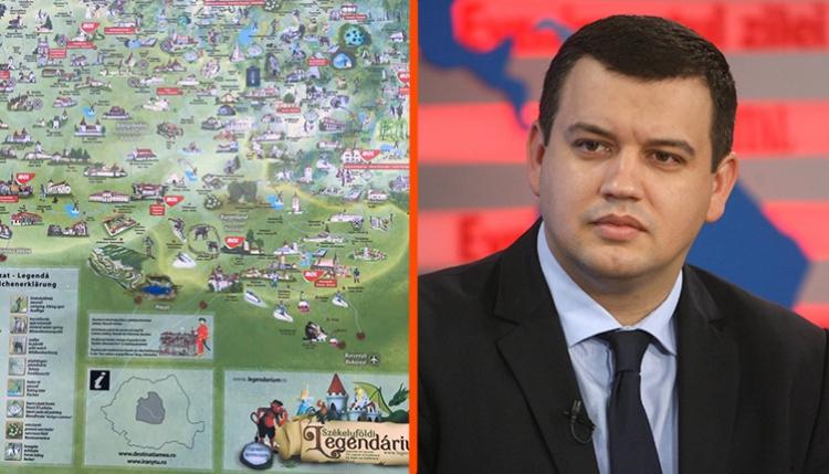Műveleti térképnek nézte a Székelyföldi Legendárium posztereit a PMP-politikus, ezért bojkottálná a MOL-t