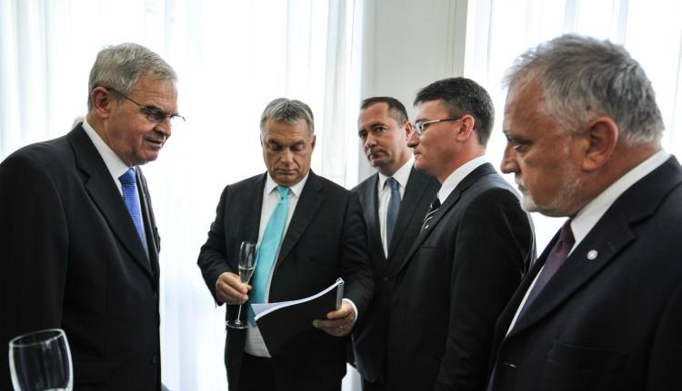 Orbán Viktorral találkoztak az EMNP vezetői Váradon