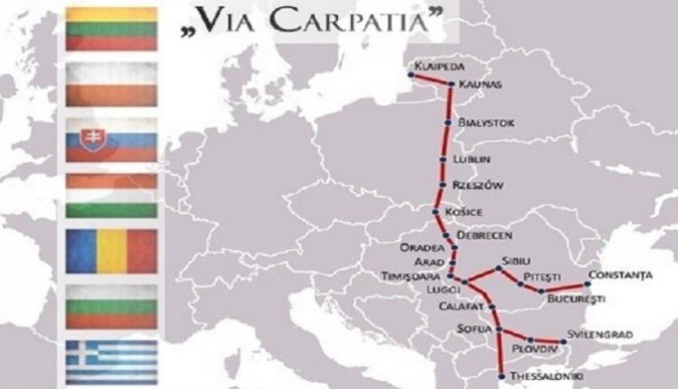 Romániai megyék társulnának a Litvániát Görögországgal összekötő autópályához