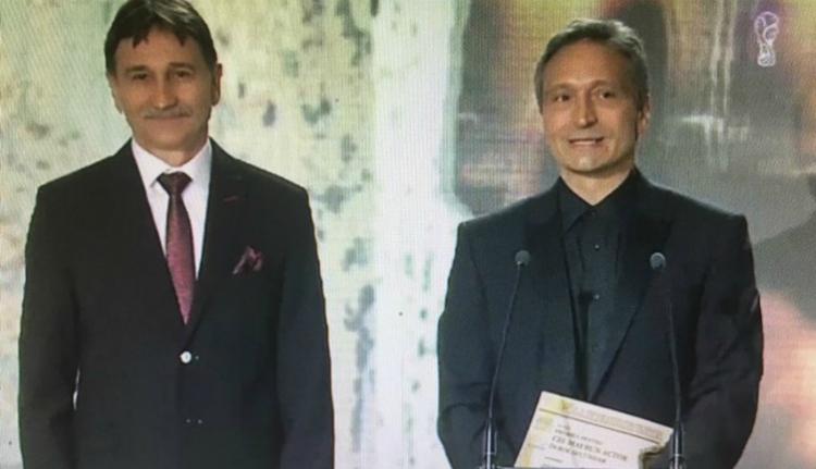 Bogdán Zsoltot díjazta a Román Színházi Szövetség