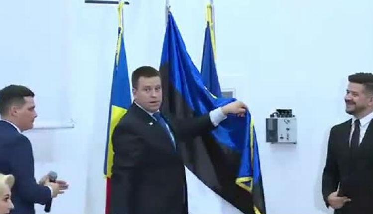 Az észt miniszterelnöknek kellett rendesen kitennie hazája lobogóját Konstancán (VIDEÓval)