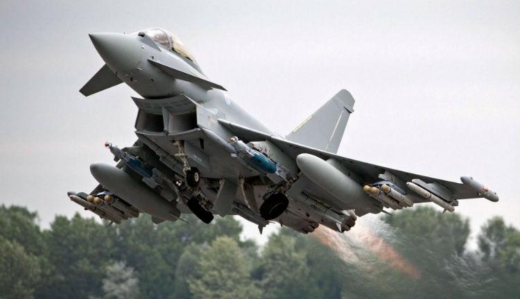 Csak négy brit vadászgép védi a román légteret
