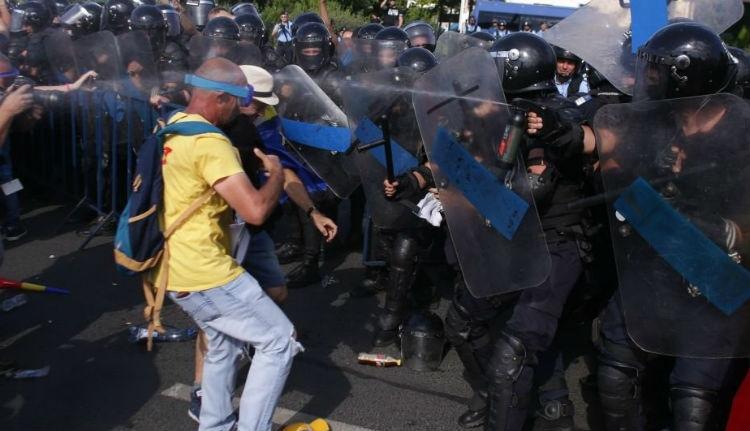 Államcsíny kísérlete miatt tett feljelentést a tüntetőket augusztus 10-én szétverő csendőrség
