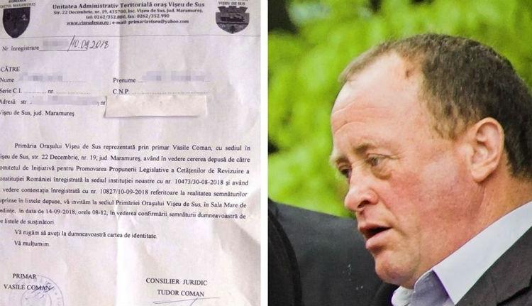 Vegzálja a büntetőügyesek nélküli közéletet akarókat Felsővisó polgármestere