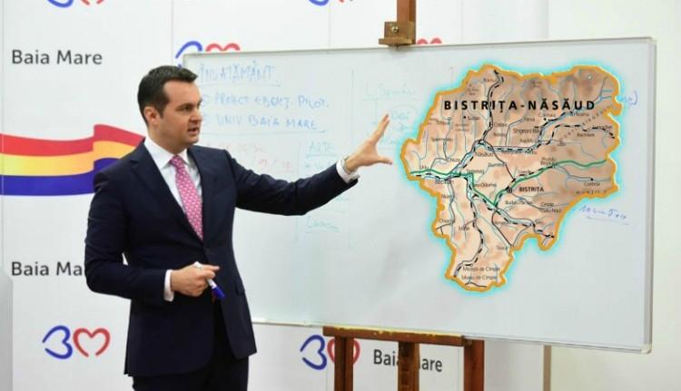 """Hoppá: Beszterce-Naszód megye kimarad az észak-erdélyi """"tartományból""""?"""