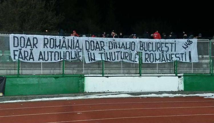 Magyarellenes élű nyilatkozatháborúval folytatódik a Sepsi–Dinamo focimeccs
