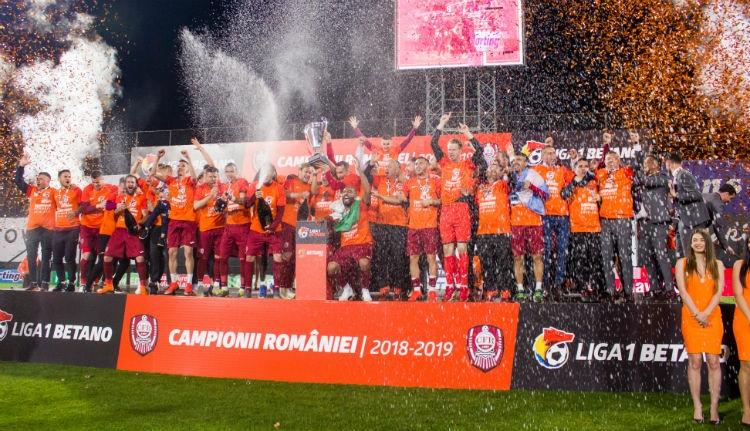Ötödik bajnoki címét nyerte a Kolozsvári CFR focicsapata