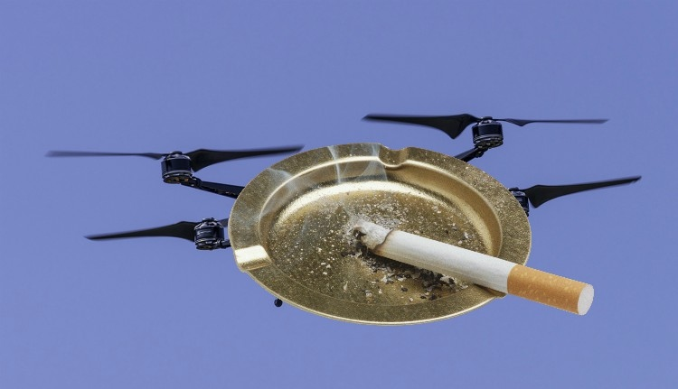 Drónnal röptetik át a határon az ukrán cigit a találékony csempészek