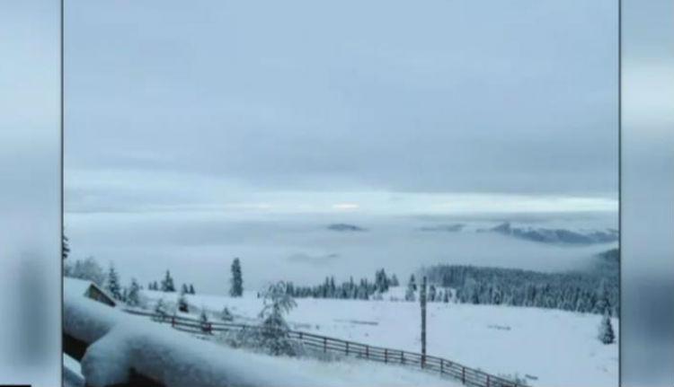 Az őszi nyár után itt van az őszi tél Erdélyben