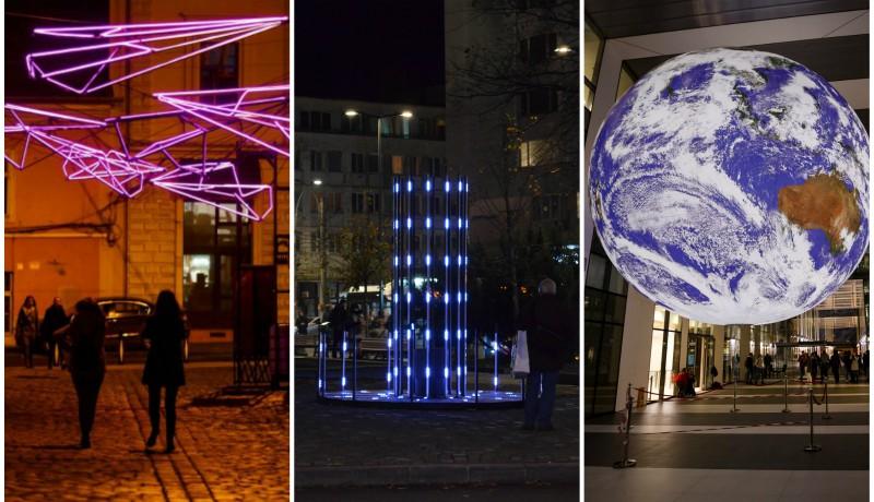 Mik ezek a furcsa fények Kolozsvár közterein?