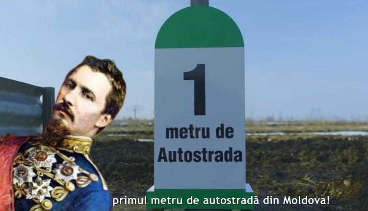 Ha ezt Cuza látná, biztos beájulna: Moldva továbbra is egy méternyi kamuautópályát tud felmutatni