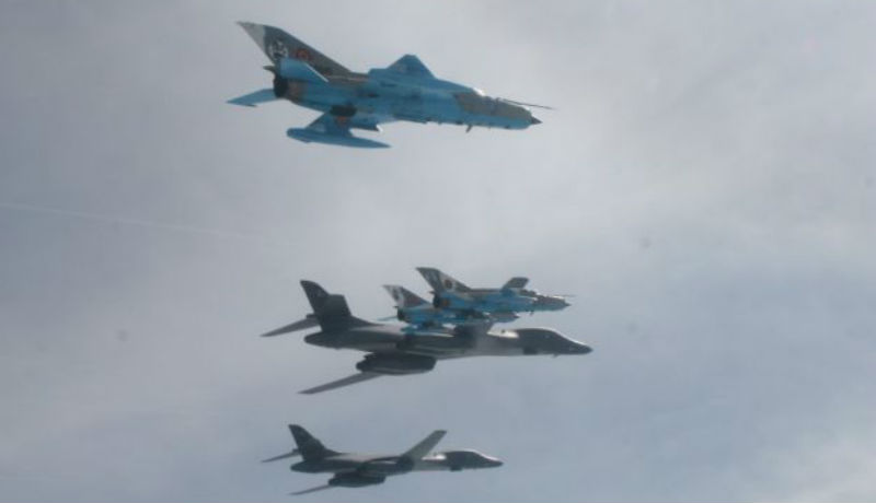 Szovjet harci gépek fogtak el orosz harci gépeket a román légtér közelében