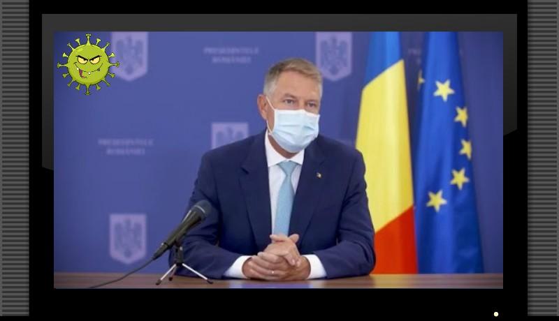 Iohannis belengette a helyi szintű korlátozásokat a járványhelyzet fokozódása miatt