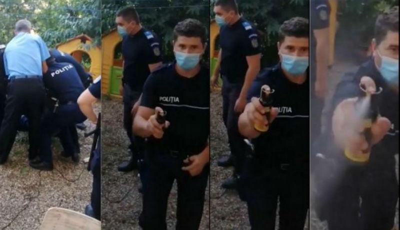 Balkáni idill: a panelház előtt grilleztek, az emiatt kihívott rendőrök egy kislányt is lefújtak gázspray-vel (VIDEÓval)