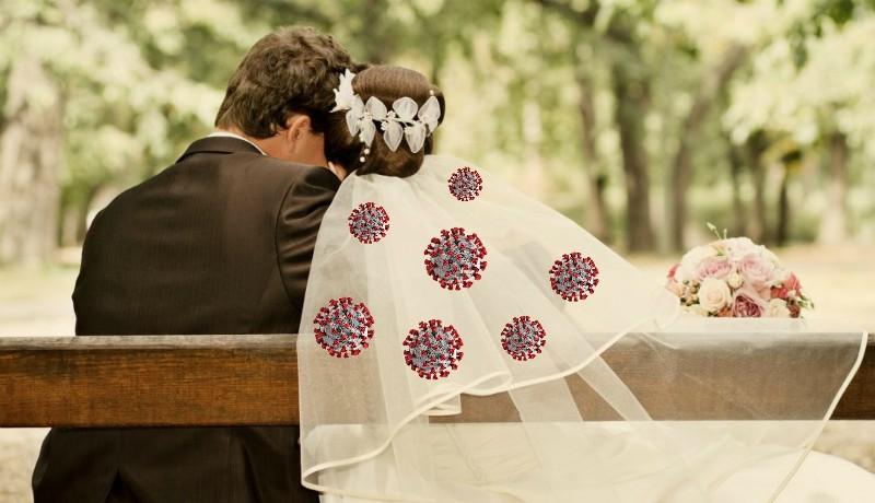 """""""Nászajándék"""" a 350 fős váradi lagzin: koronavírusos lett a menyasszony, a meghívottakat karanténba küldték"""