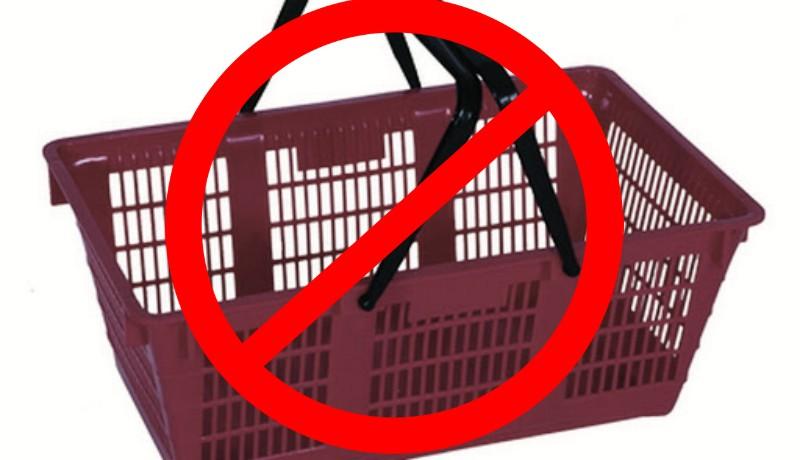 Olyan megye is akad, ahol betiltották a bevásárlókosarak használatát a járvány miatt