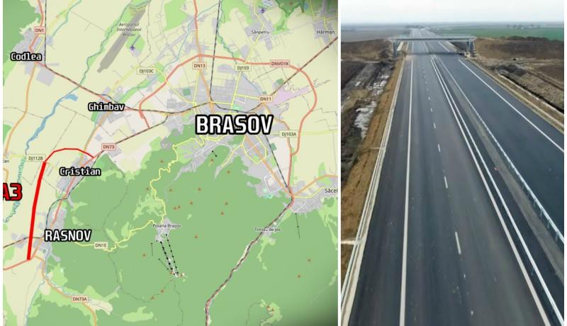 Két szomszédos települést köt össze Románia legújabb autópálya-csonkja