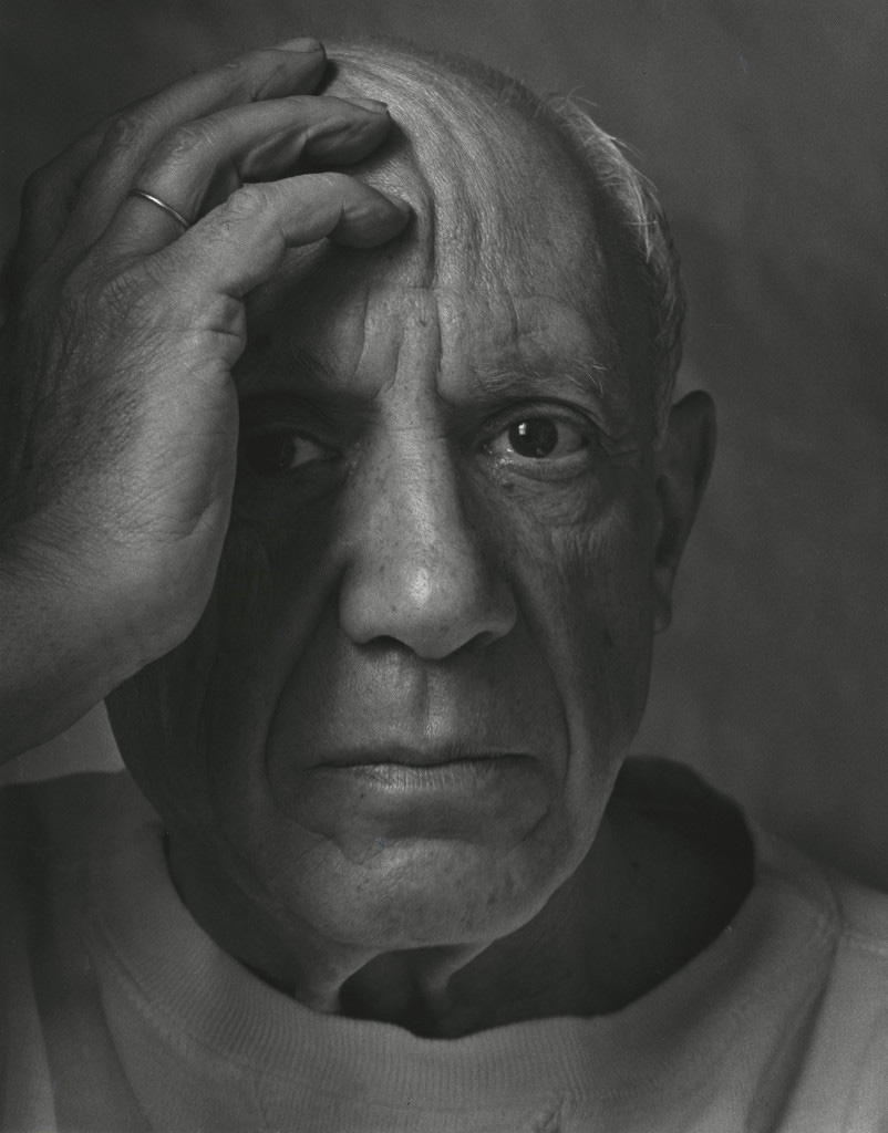 © Arnold Newman, Pablo Picasso, Vallauris, France, 1954. Courtesy of Howard Greenberg Gallery, New York