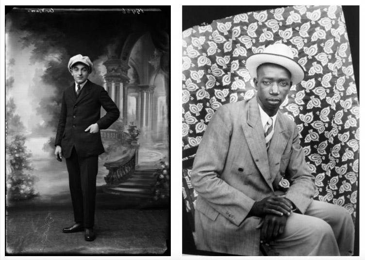 Seydou Keïta & Norbert Ghisoland fototentoonstelling Gallery 51