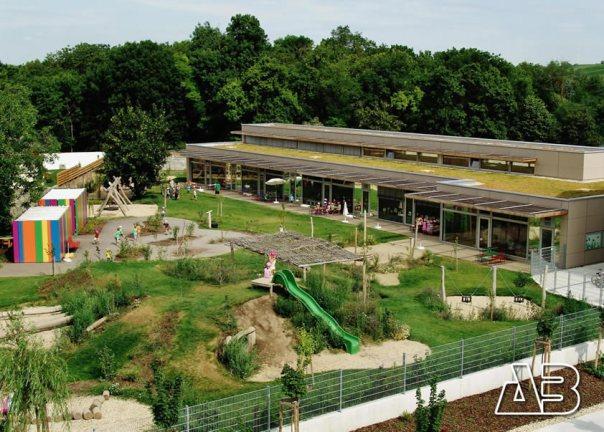 Luftbild Kindergarten Mönchhof