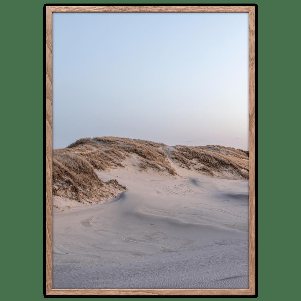 Inland dunes poster