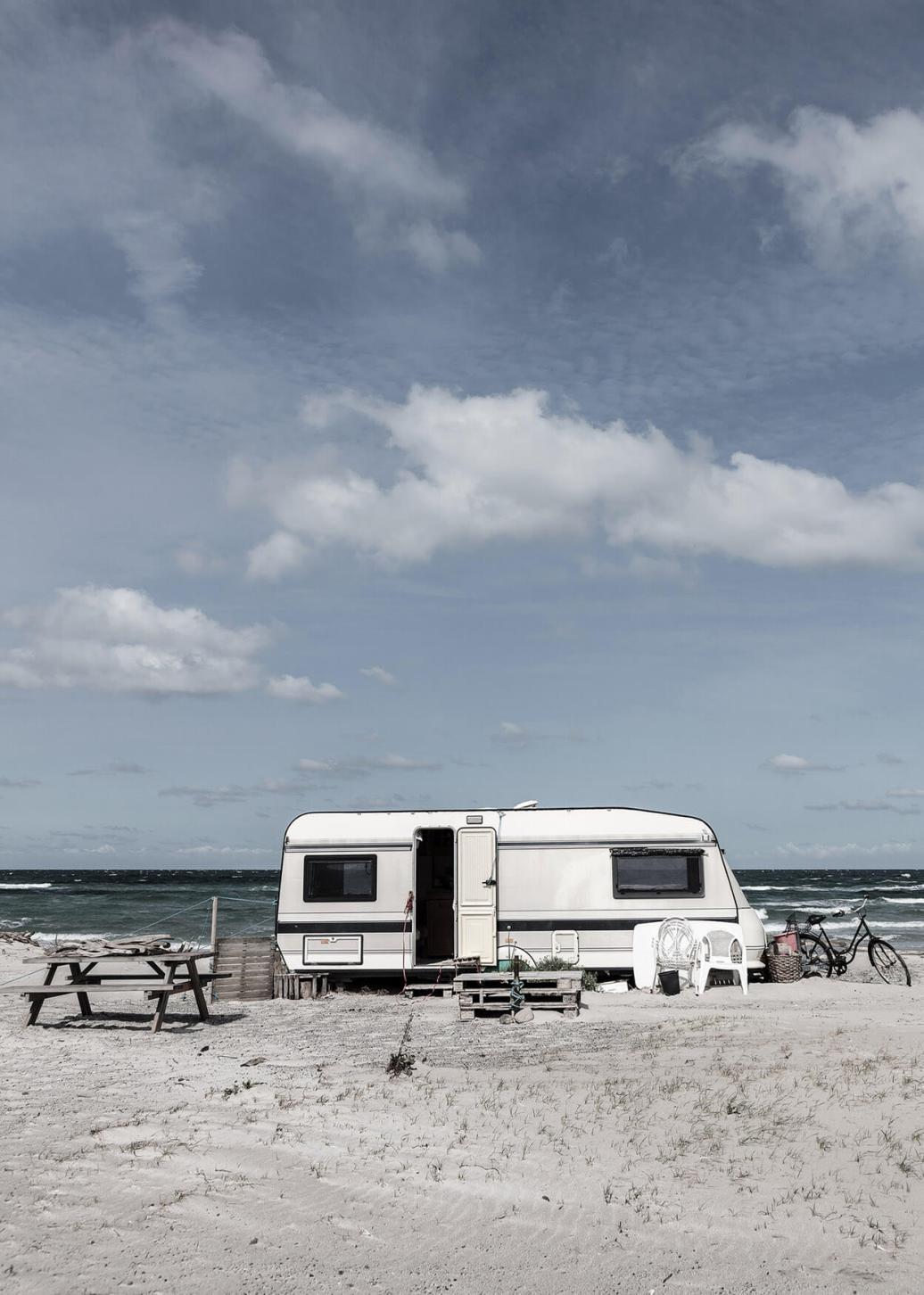 Camping plakat