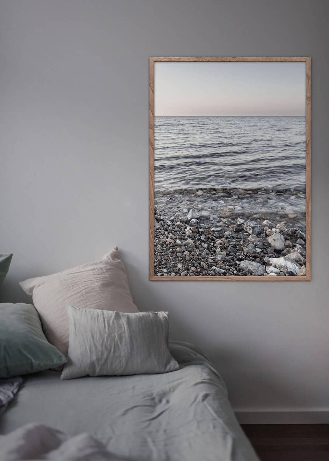 Marstal strand plakat