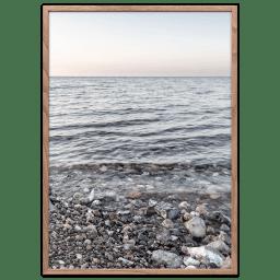 Marstal strand plakat, Danmark.