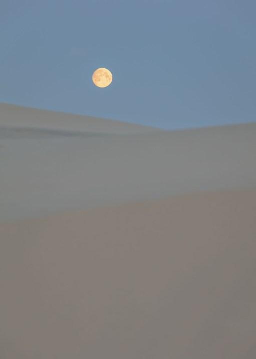 Måne plakat fotokunst