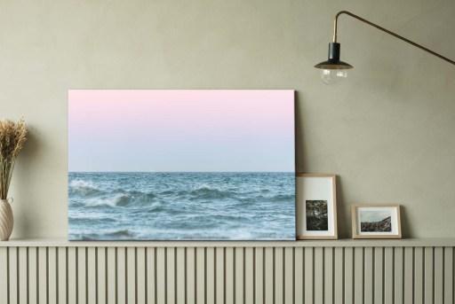 Skagens bølger fotokunst