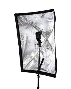 Softbox 80 x 60 setup de studio