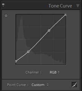 Lightroom develop Tonal Curves 2