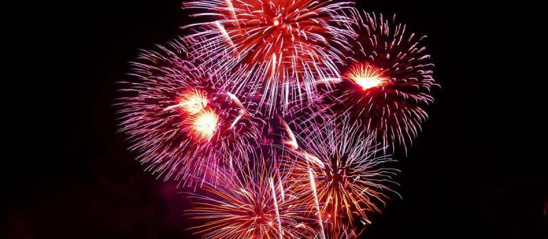 Silvester-Bilder-Feuerwerk