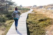 Der Rundwanderweg im Nationalpark sind 4 km