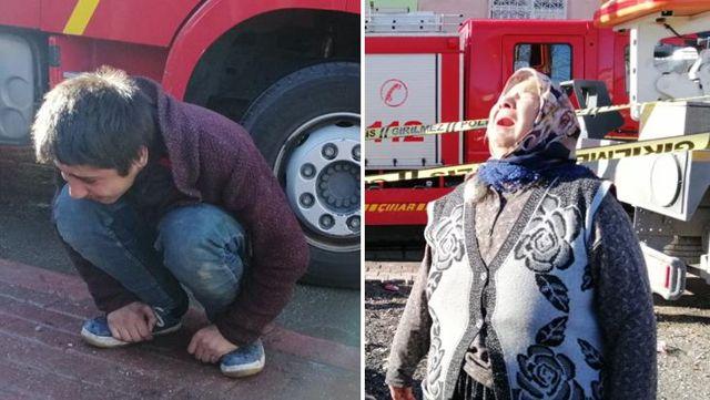 ماتت المرأة التعيسة التي اشتعلت في النيران بشكل سيئ ، وأصيب أقاربها بانهيار عصبي