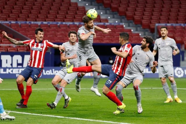 La Liga'da 18. haftanın erteleme maçında Atletico Madrid, sahasında Athletic Bilbao'yu 2-1 yendi