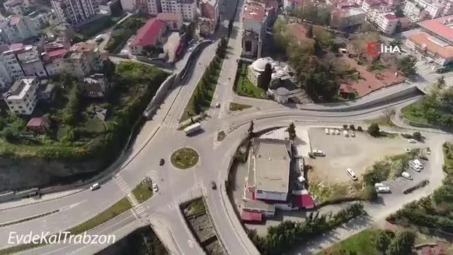 """Trabzon Valiliği'nden 'Evdekal Trabzon-Hedef Mavi Kategori"""" çağrısı"""