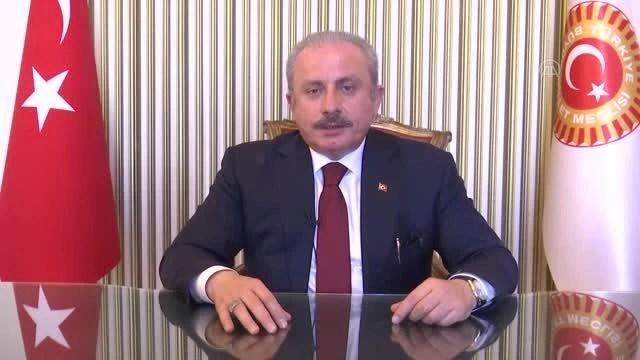 TBMM Başkanı Şentop, Türk Dünyasının Dünü, Bugünü ve Geleceği Sempozyumu'na video mesaj gönderdi Açıklaması