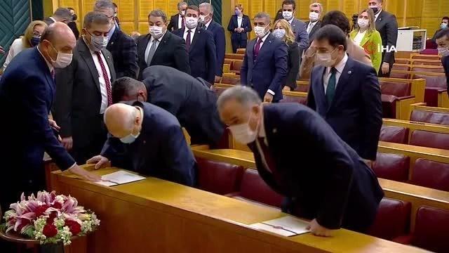 """Son dakika haber! MHP Genel Başkanı Bahçeli: """"Teröristler ihanetlerinin bedelini canları ile ödemiştir."""