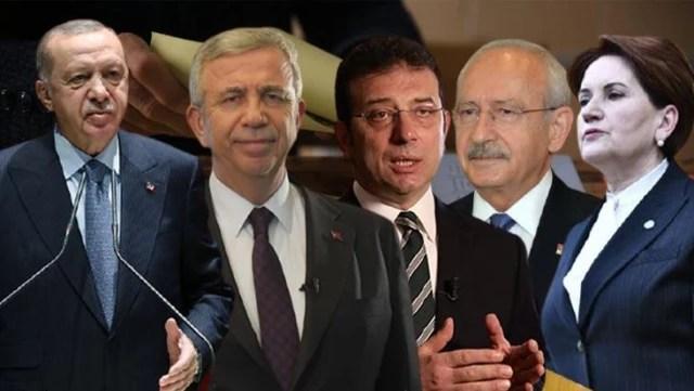 Cumhurbaşkanlığı seçiminde Erdoğan'ın en büyük rakibi kim? Anket sonuçları bir ismi işaret ediyor