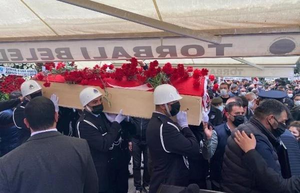 Torbalı Belediye Başkanı İsmail Uygur, son yolculuğuna uğurlandı