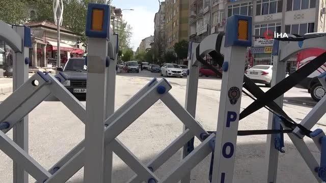 Elazığ'da sosyal mesafe için 3 cadde araç trafiğine kapatıldı